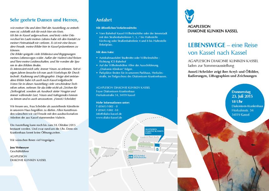 Flyer Einladung zur Kunstausstellung von AnneLiSchröder 2015 1_2