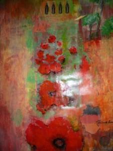 Blühende Landschaften  Collage