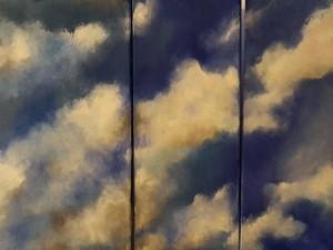 Wolkenspiel Acryl