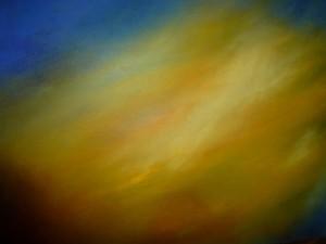 Wolkenspiele Sonnenaufgang Öl